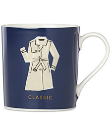 kate spade new york Things We Love Classic Trench Mug