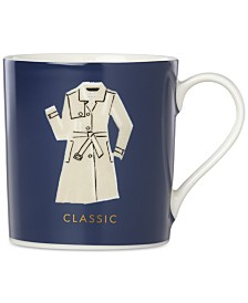 CLOSEOUT! kate spade new york Things We Love Classic Trench Mug