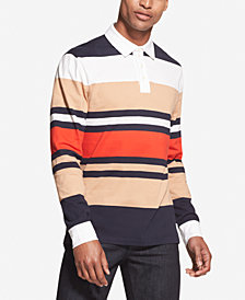 DKNY Men's Rugby Stripe Polo