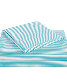Truly Soft Everyday Stripe 4 Piece Queen Sheet Set
