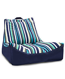 Big Joe Captain's Float Cool Cozumel Stripe Sunmax, Quick Ship