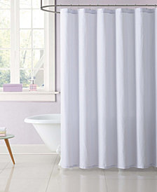 My World Stripe Shower Curtain