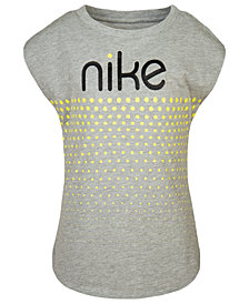 Nike Toddler Girls Dot & Logo Graphic T-Shirt