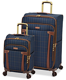 London Fog Brentwood Expandable Softside Luggage Collection, Created for Macy's