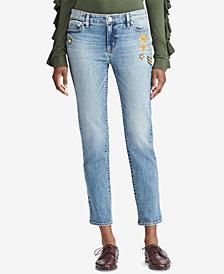 Lauren Ralph Lauren Premier Estate Crop Jeans