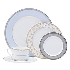 Mikasa Blaire Blue Gold-Tone 5-Pc. Place Setting