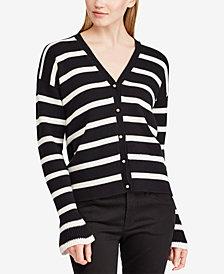 Lauren Ralph Lauren Striped Cotton Cardigan