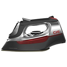 Chi Electronic Iron with Retractable Cord and Titanium-infused ceramic soleplate