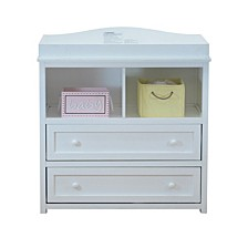 Leila Changing Table & Dresser, White