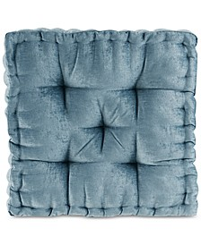 """Azza 20"""" x 20"""" Poly Chenille Square Floor Pillow Cushion"""