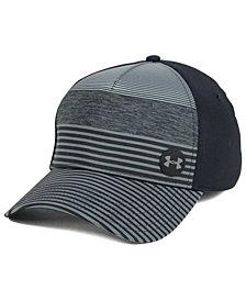 Under Armour Golf Striped Out Stretch Fitted Cap