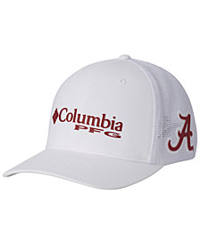 Columbia Alabama Crimson Tide PFG Stretch Fitted Cap