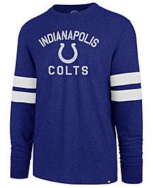 '47 Brand Men's Indianapolis Colts Scramble Long Sleeve Club T-Shirt