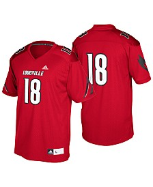adidas Men's Louisville Cardinals Replica Football Jersey