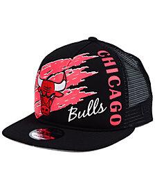 New Era Chicago Bulls Swipe Trucker 9FIFTY Snapback Cap