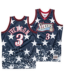 Mitchell & Ness Men's Allen Iverson Philadelphia 76ers The 4th Swingman Jersey