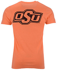 Retro Brand Men's Oklahoma State Cowboys Team Stacked Dual Blend T-Shirt
