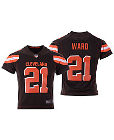 Nike Denzel Ward Cleveland Browns Game Jersey, Big Boys (8-20)