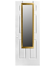 Home Basics Over The Door Mirror, Gold