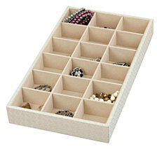 Home Basics 18-Compartment Jewelry Organizer