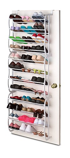 Home Basics Sunbeam  5 Tier Non Woven Shoe Closet