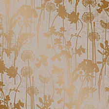 Tempaper Distressed Floral Self-Adhesive Wallpaper