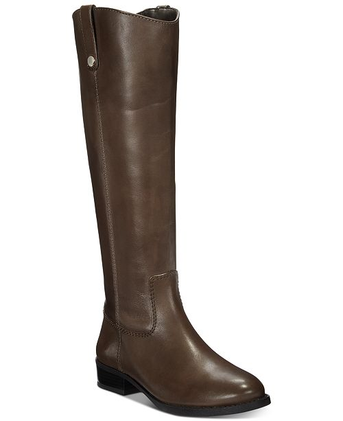 INC International Concepts I.N.C. Fawne Wide-Calf Riding Boots, Created for Macy's