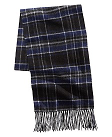 Men's Printed Cashmere Scarf, Created for Macy's