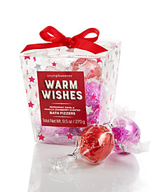 "Simple Pleasures ""Warm Wishes"" 9 Piece Fizzer Set In Carton"