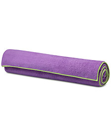 Gaiam Yoga Stay-Put Mat Towel