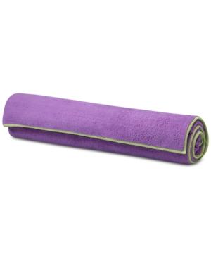 Gaiam Yoga Stay-Put Mat Towel