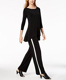Alfani Swing Top & Soft Pants, Created for Macy's