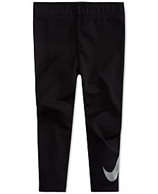 Nike Little Girls Logo-Graphic Leggings
