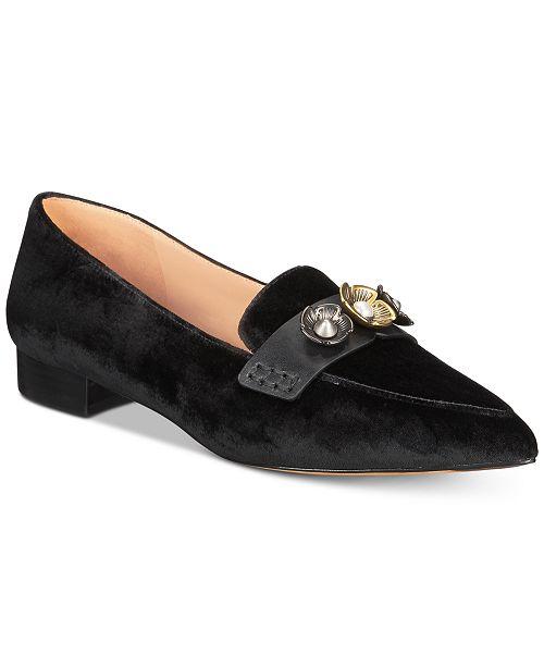 a236267ec20 COACH Naomi Tea Rose Loafers   Reviews - Flats - Shoes - Macy s