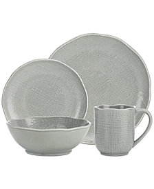 Godinger Tela 16-Pc. Oversized Dinnerware Set