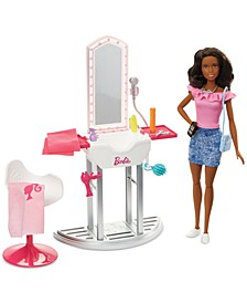 CLOSEOUT! Doll & Salon Playset