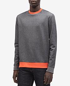 Calvin Klein Men's Colorblocked Two-Tone Sweatshirt