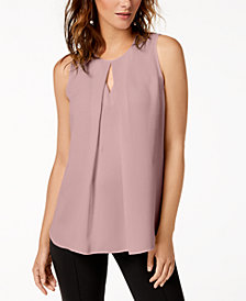 Bar III Keyhole Top, Created for Macy's