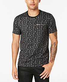GUESS Men's Zip-Pocket T-Shirt