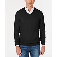 Deals on Club Room Men's V-Neck Cashmere Sweater