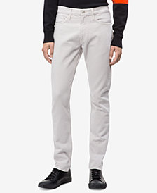 Calvin Klein Jeans Men's Slim-Fit Wellington Grey Jeans, CKJ 026