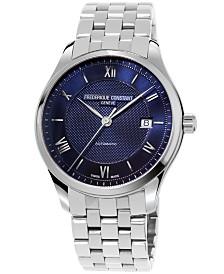 Frederique Constant Men's Swiss Automatic Classics Index Stainless Steel Bracelet Watch 40mm