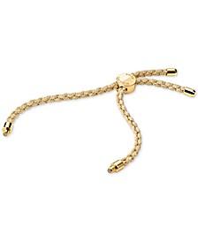 Women's Custom Kors Sterling Silver Cord Bracelet