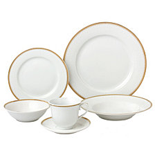 Lorren Home Trends Georgette 24-Pc. Dinnerware Set, Service for 4