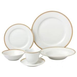 Lorren Home Trends Georgette 24Pc Dinnerware Set Service for 4