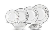 Viola 28-Pc. Dinnerware Set, Service for 4