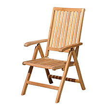 Courtyard Casual Teak Heritage Outdoor Chair