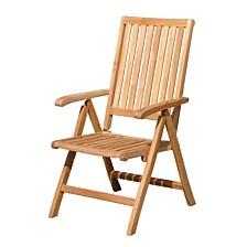 Courtyard Casual Teak Heritage Outdoor Chair