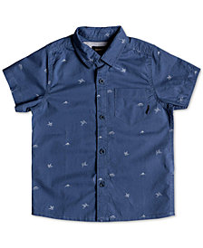 Quiksilver Little Boys Fuji Woven Cotton Shirt