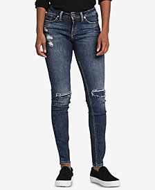 Silver Jeans Co. Suki Ripped Skinny Jeans